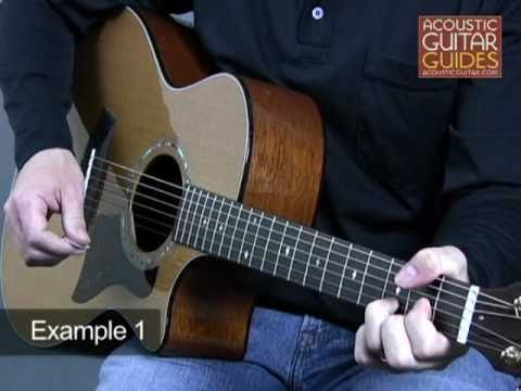 Acoustic Guitar Lesson - Open String Chords Lesson with Andrew DuBrock
