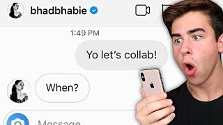 I Sent A DM To 100 Celebrities On Instagram (It Actually Worked) - Challenge