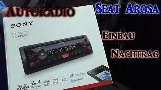 Seat Arosa Autoradio wechseln NACHTRAG VLOG#5.1 | HD+ | Deutsch