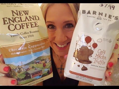 Barnie's Cafe Mocha Truffle vs. New England Coffee Chocolate Cappuccino