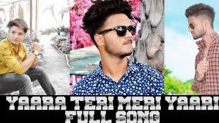 Yaari hai - Tony Kakkar | Siddharth Nigam | Riyaz Aly | Happy Friendship Day | Official Video