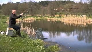 Pêche Du Gardon En étang