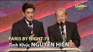Paris By Night 74 - Tình Khúc Nguyễn Hiền