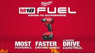 "Milwaukee® Powertools M18 FUEL™ w/ONE-KEY™ 1/4"" Impact Driver"