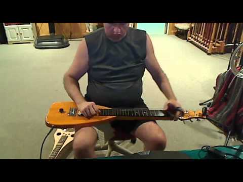 "Ozzy Osbourne""No more tears"" on Lap Steel Guitar"