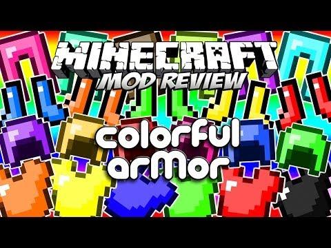 COLORFUL ARMOR MOD - ¡Armaduras de colores! [Forge][1.7.2]