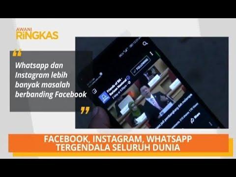 AWANI Ringkas: Facebook, Instagram, WhatsApp tergendala seluruh dunia