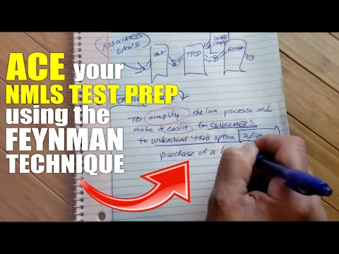 Ace your NMLS Test Prep using the Feynman Technique (Safe ...