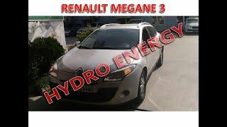 Renault Megane III UCR Hidrojen Yakıt Sistem montajı.