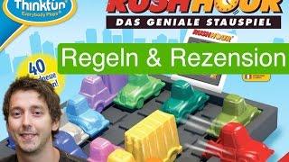 Rush Hour (Knobelspiel) / Anleitung & Rezension / SpieLama