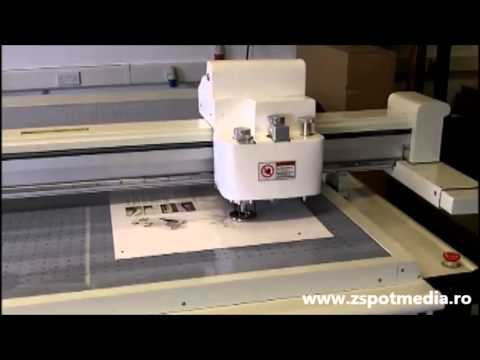 Prezentare video Masina de taiat carton