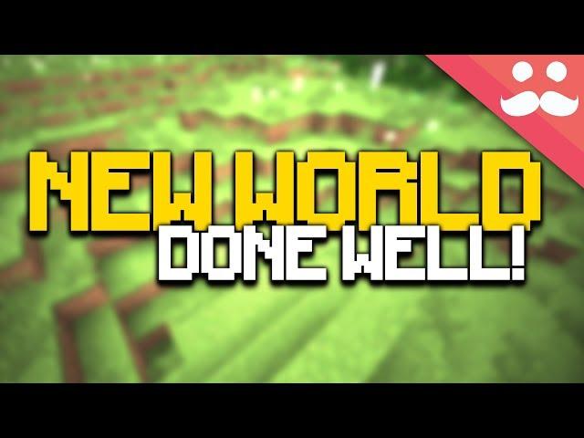 50 Steps to STARTING A NEW MINECRAFT WORLD PROPERLY!