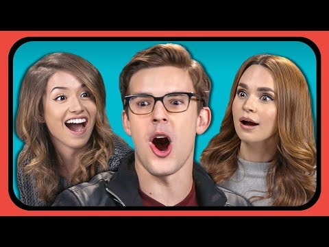 youtubers react to top 10 most viewed youtube channels of al