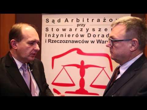 Konferencja SIDiR - Wywiad z Pawłem Szaciłło, Dyrektorem Centrum Unijnych Projektów Transportowych