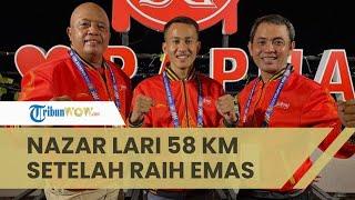 Kisah Pesilat Asal Klaten Tunaikan Nazar Lari Sejauh 58 Kilometer setelah Raih Medali Emas pada PON