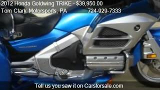 2012 Honda Goldwing TRIKE  for sale in Belle Vernon, PA 1501