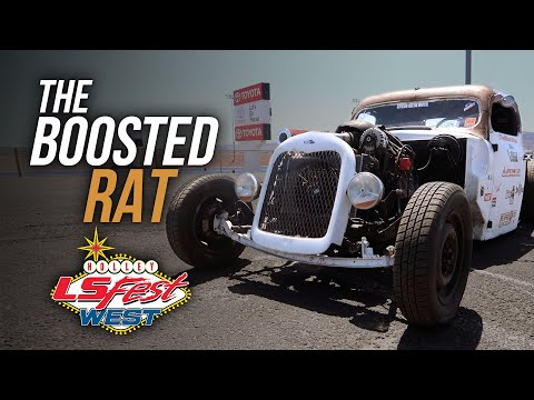 Turbo LS Rat Rod at LS Fest West 2019