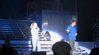 Clay Aiken Singing with 12 Yr Old Girl in Colorado