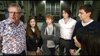 Harry Potter Studio Tour With Mark Williams, Bonnie Wright, Rupert Grint And The Phelps Twins