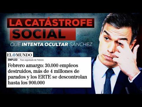 La catástrofe social que intenta ocultar Pedro Sán...