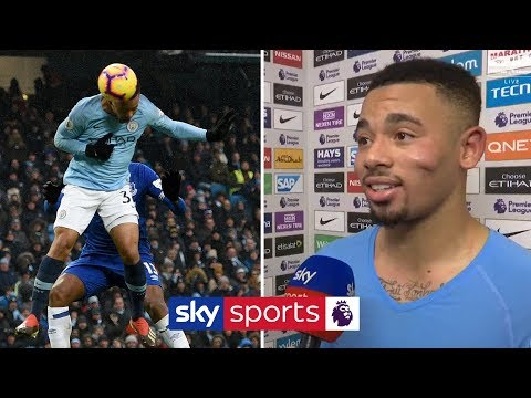 """He NEVER scores headers!"" 