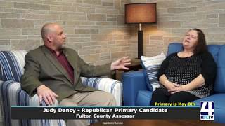Interview with Judy Dancy - Republican Primary Candidate - Fulton County Assessor
