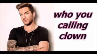 Adam Lambert These Boys (Bonus Track) Lyrics