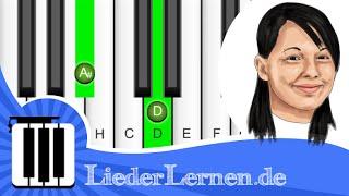 Christina Stürmer - Um Bei Dir Zu Sein - Klavier lernen - Musiknoten - Akkorde