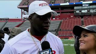 Mohamed Sanu Interview - Rutgers Spring Football