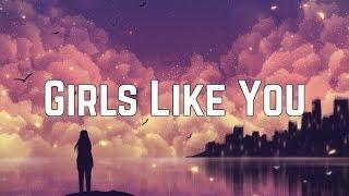 Maroon 5 - Girls Like You (Remix) ft. Cardi B (Lyrics)
