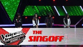 Coach Bebi Memilih... | Sing Off | The Voice Kids Indonesia Season 2 GTV 2017