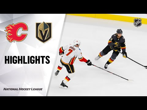 Flames @ Golden Knights 10/12/19 Highlights