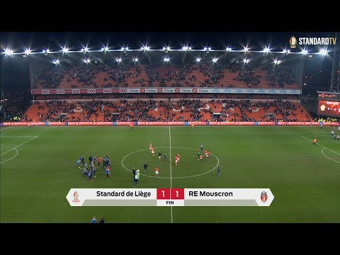 Standard - Mouscron : 1-1