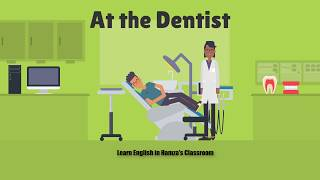 At the Dentist | Fluent English | English Conversation | Common Daily Expressions
