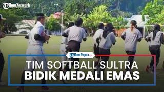 Bidik Medali Emas, Tim Softball Sulawesi Tenggara Siap Tempur di PON XX Papua