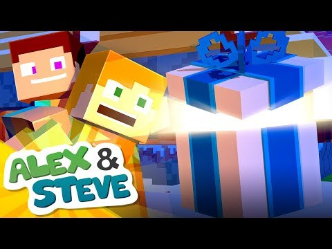 christmas minecraft surprise the minecraft life of alex steve christmas minecraft animation - Christmas Minecraft Videos