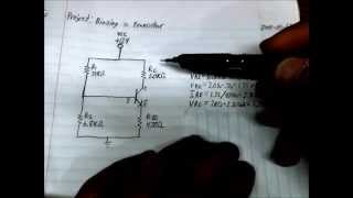 How to calculate Transistor Bias