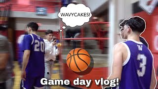 Wavy Cakes- Playoff Game Day Vlog! 🏀