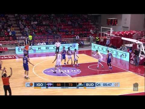 Nikola Ivanović shines in key moments (Igokea - Budućnost VOLI, 16.11.2019)