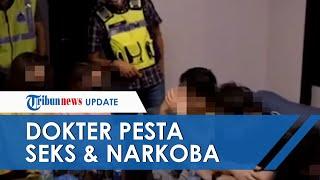 Oknum Dokter Ditangkap Tengah Pesta Seks Bersama 35 Orang di Apartemen, Polisi Juga Temukan Narkoba