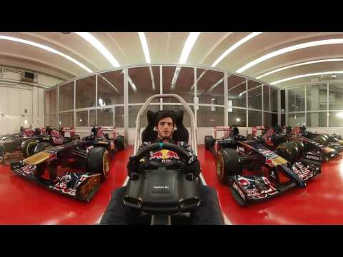 Spain GP - Carlos Sainz 360 hotlap - Scuderia Toro Rosso