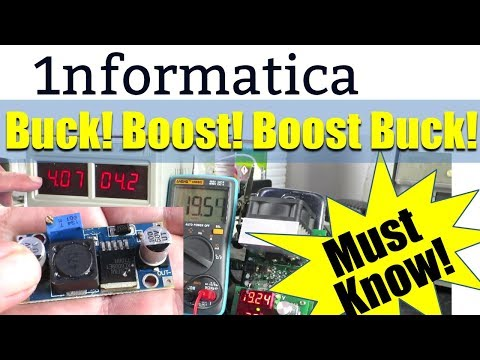 Buck! Boost! Boost Buck! Xl6009 Based DC Converter Important Tips!