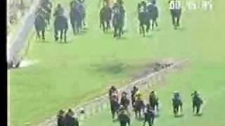 preview picture of video 'Indian Horse Racing-One Track Minded, wins THE R.M.PUTTANNA MEMORIAL TROPHY'