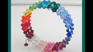 Must Know Monday (12/26/16) Rainbow Memory Wire Bracelet