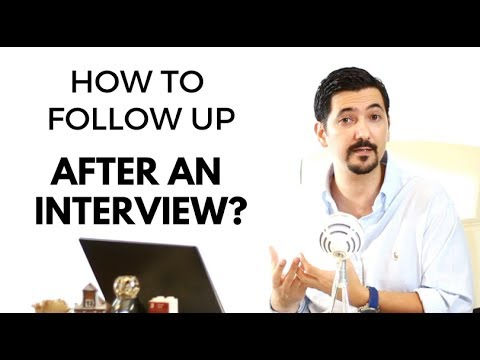 mp4 Follow Up With Hiring Manager After Interview, download Follow Up With Hiring Manager After Interview video klip Follow Up With Hiring Manager After Interview
