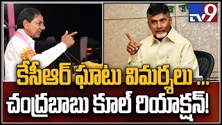 Chandrababu counter to KCR controversial comments in public meeting - TV9