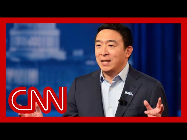 Andrew Yang explains climate plan and how he can beat Donald Trump
