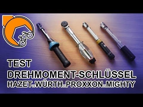 MTB-Drehmoment-Schlüssel: Hazet, Würth, Proxxon oder Mighty?