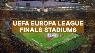 UEFA Europa League Finals Stadiums (1998-2020)