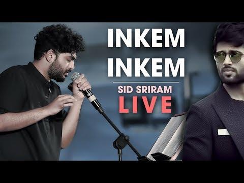 Sid Sriram Inkem Inkem Inkem Kaavaale